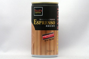 TULLY'S COFFEE BARISTA'S CHOICE エスプレッソ フォルテスティーレ