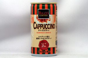 TULLY'S COFFEE BARISTA'S CHOICE カプチーノ