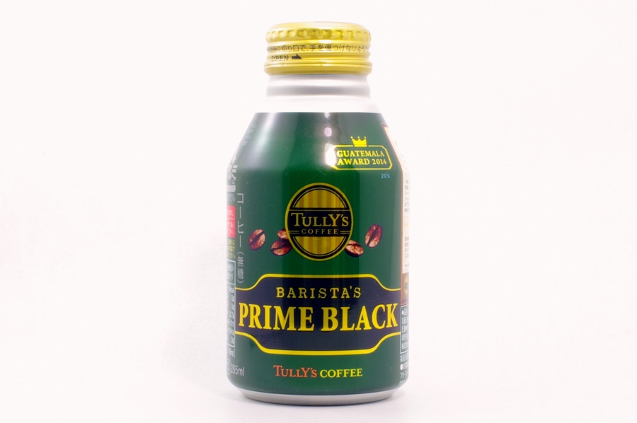 TULLY'S COFFEE BARISTA'S PRIME-BLACK 2014年7月