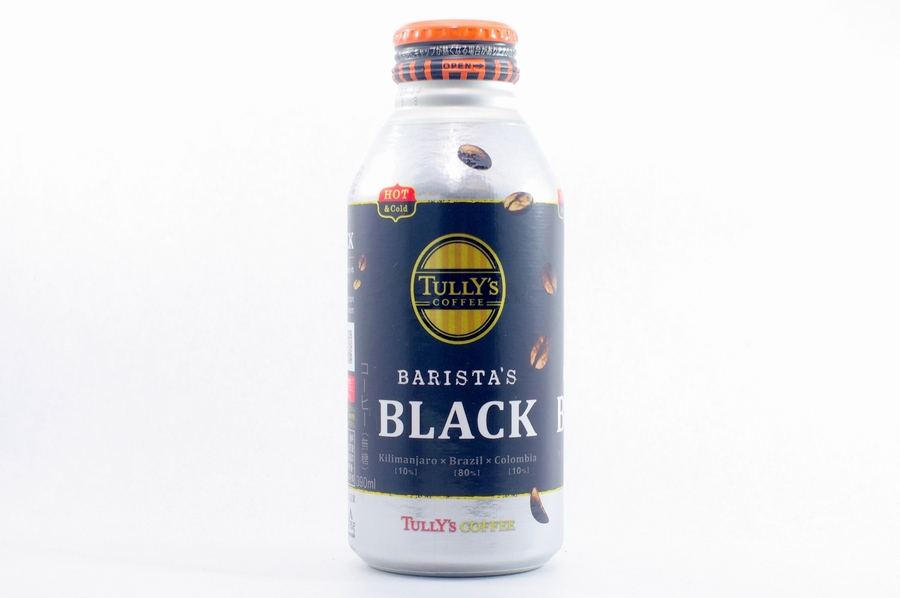 TULLY'S COFFEE BARISTA'S BLACK 390mlボトル缶 2014年10月