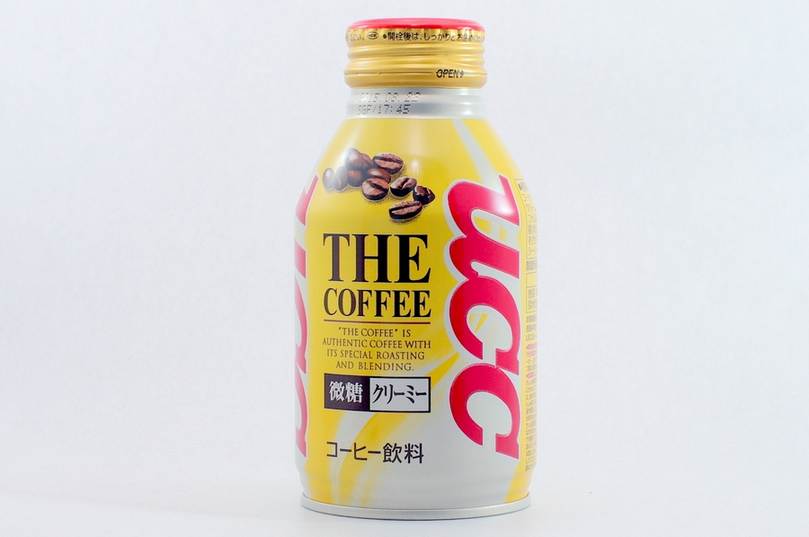 UCC THE COFFEE 微糖クリーミー 2014年10月