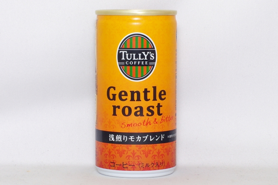 TULLY'S COFFEE ジェントルロースト(190G缶)