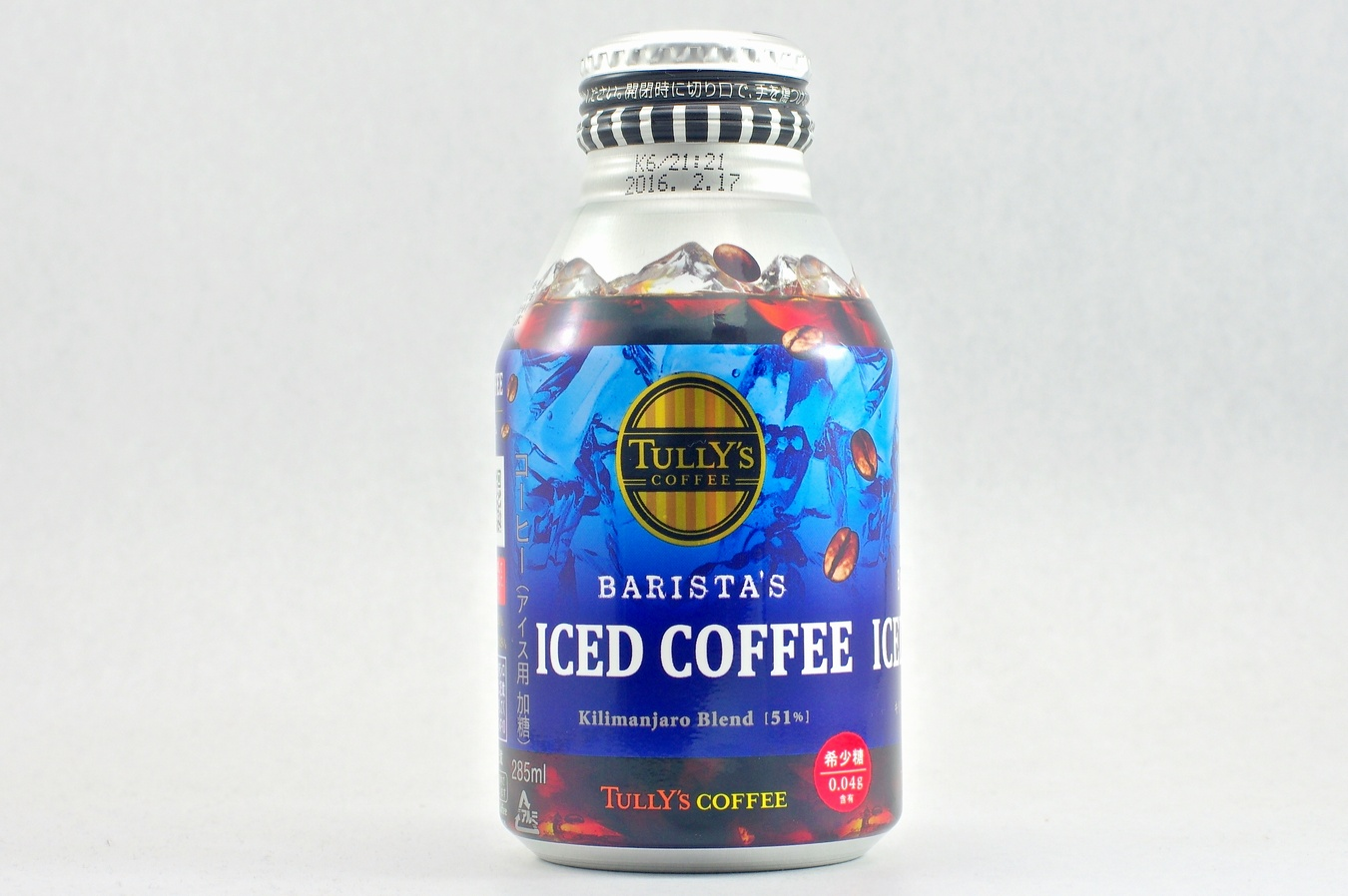 TULLY'S COFFEE BARISTA'S ICED COFFEE 2015年4月