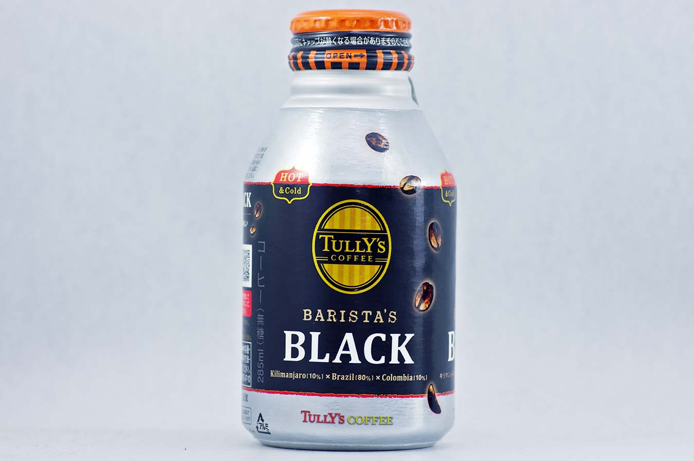 TULLY'S COFFEE BARISTA'S BLACK 285mlボトル缶 2015年10月