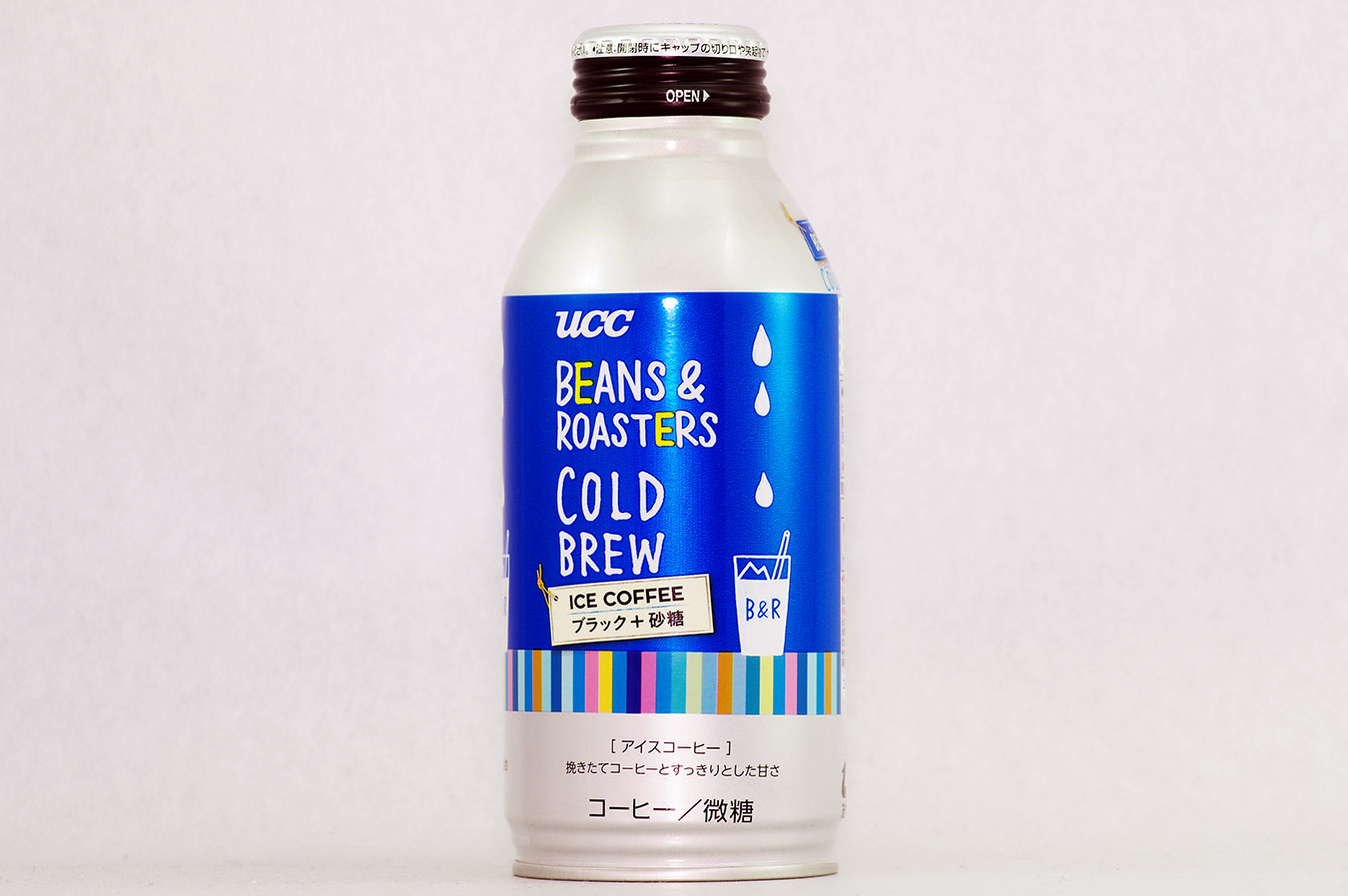 UCC BEANS & ROASTERS COLD BREW 375g缶 2016年4月