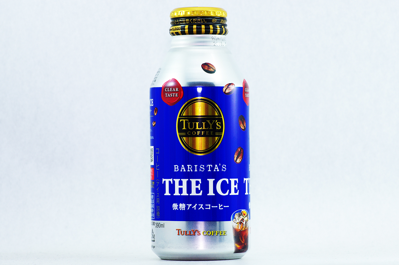 TULLY'S COFFEE BARISTA'S THE ICE 390mlボトル缶 2017年7月